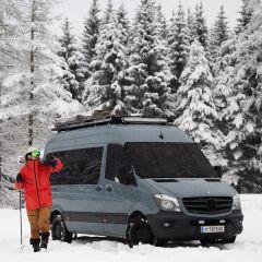 Magnet-Außenisolierung Mercedes Sprinter 906 und VW Crafter 1 Fahrerhaus komplett (2006-2018)