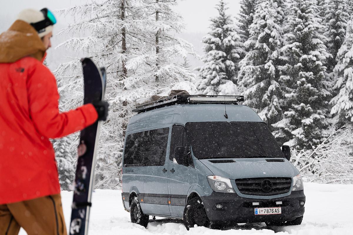 Magnet-Außenisolierung Mercedes Sprinter