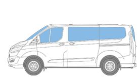 Magnet-Thermomatten Ford Transit Custom, Tourneo Custom, Nugget