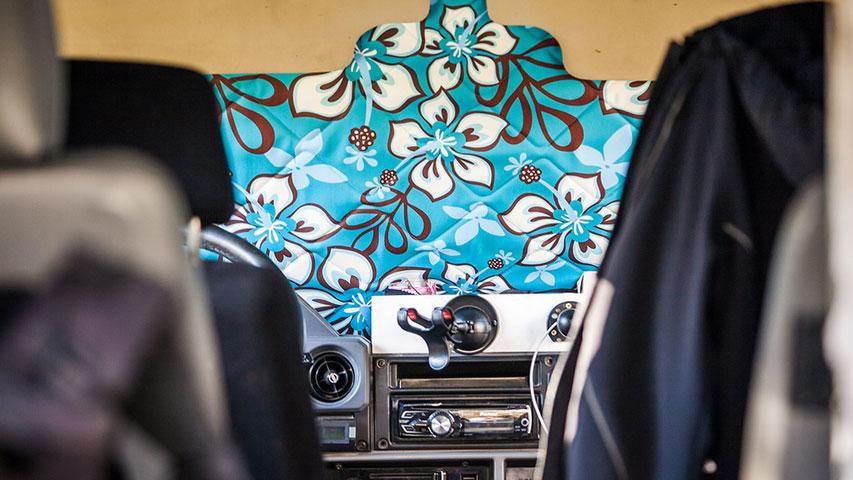 Magnet-Verdunklungen Toyota Land Cruiser Innenraum