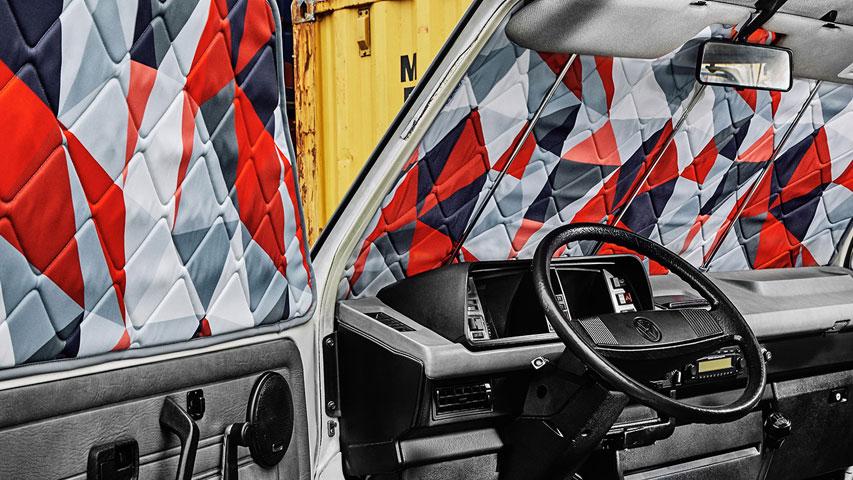 Magnet-Verdunklungen VW T3 Innenraum