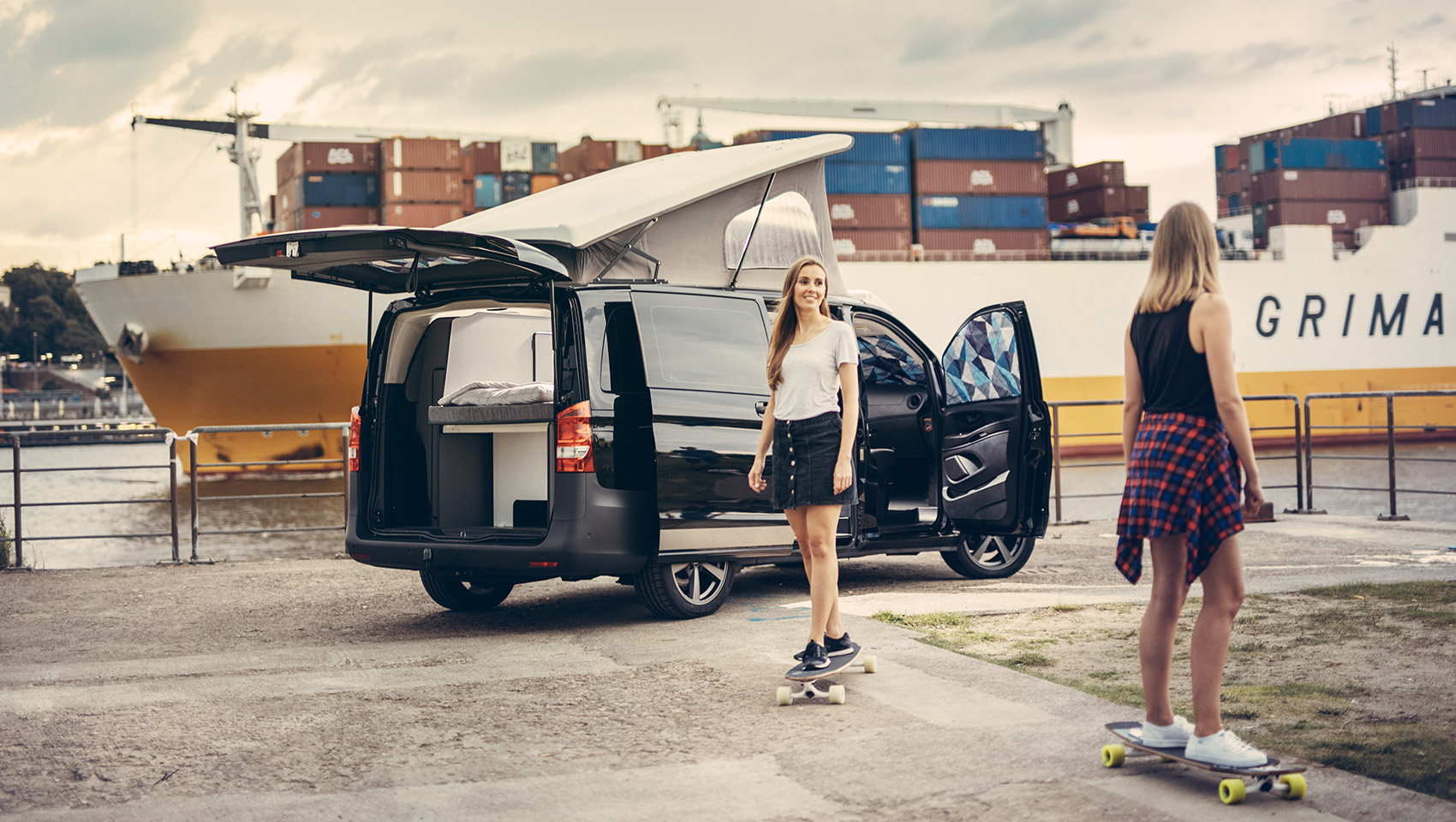 Project Camper Isomatten Mercedes Vito in Hamburg