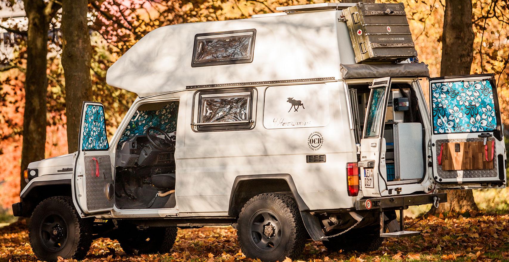 Project Camper Isomatte mit Magnet Toyota Land Cruiser