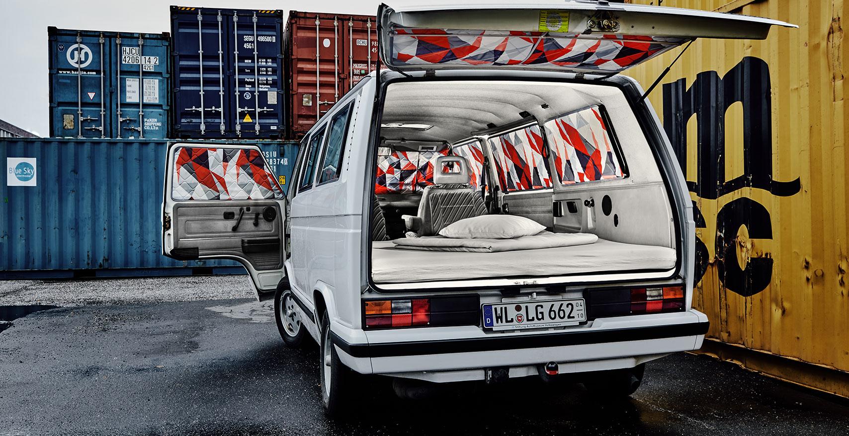 Project Camper Isomatte mit Magnet VW T3