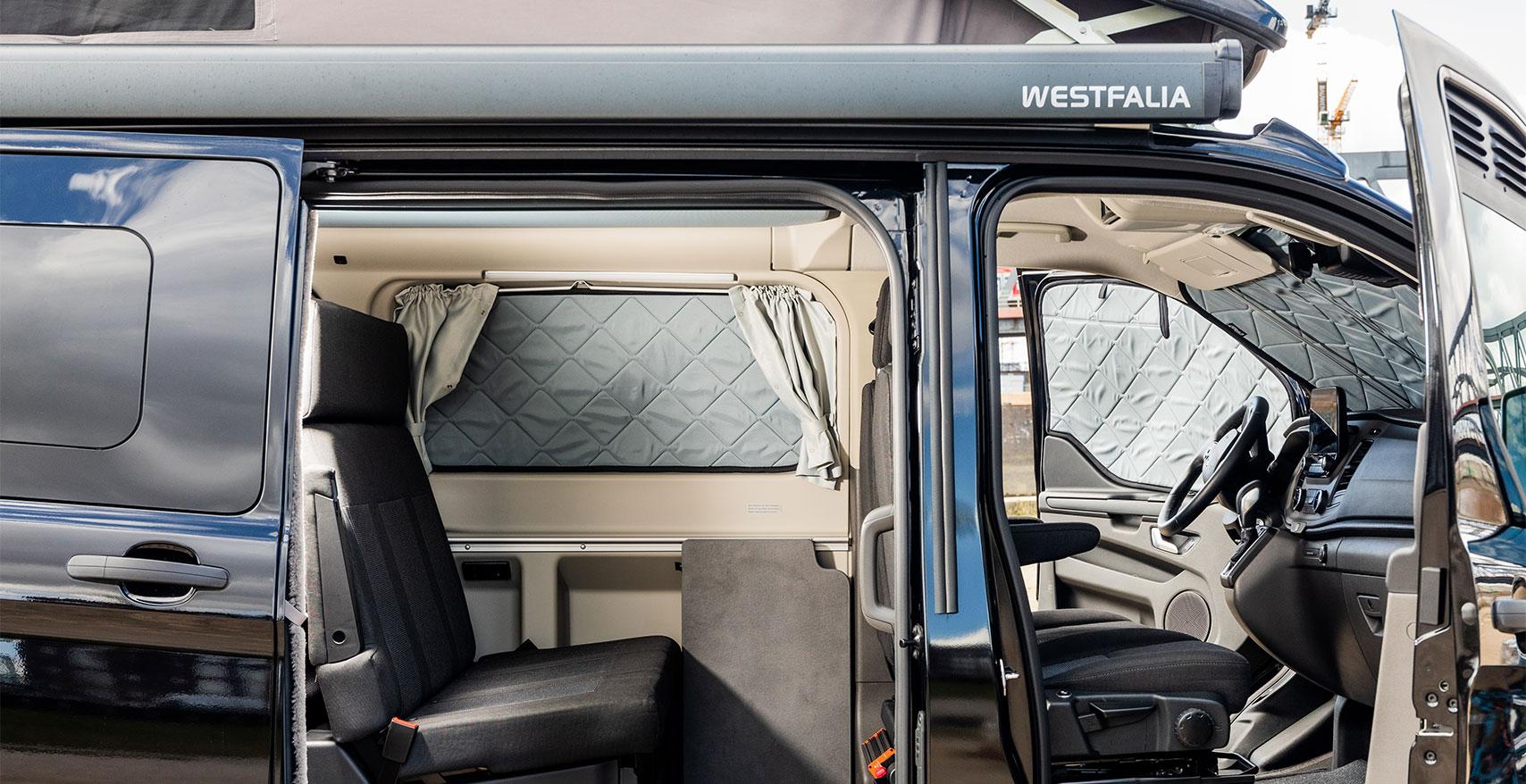 Magnet-Thermomatten von Project Camper für Ford Transit Nugget