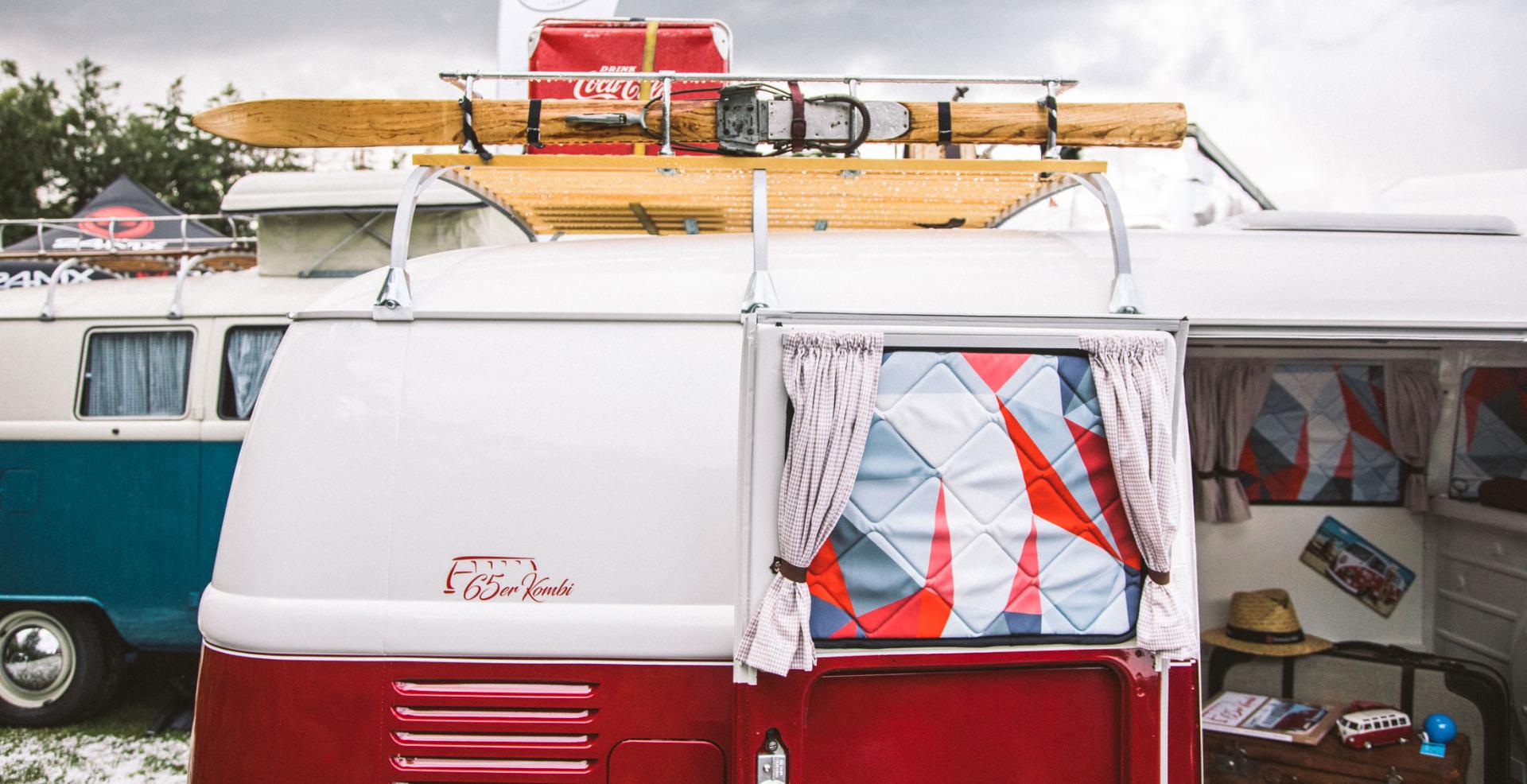 Project Camper Isomatte mit Magnet VW T1