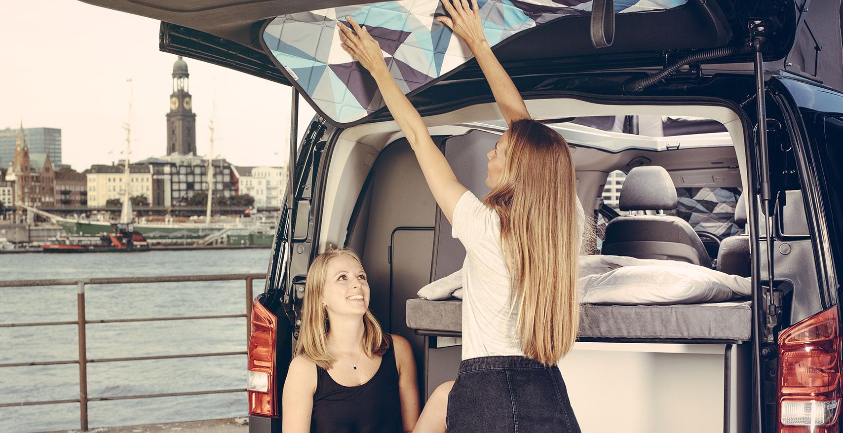 Project Camper Isomatte mit Magnet Mercedes Vito, V-Klasse