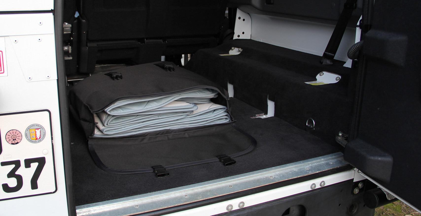 Project Camper Packsack für Magnet-Thermomatten